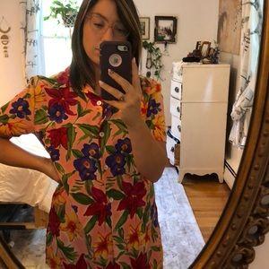 Vintage tropical shirt